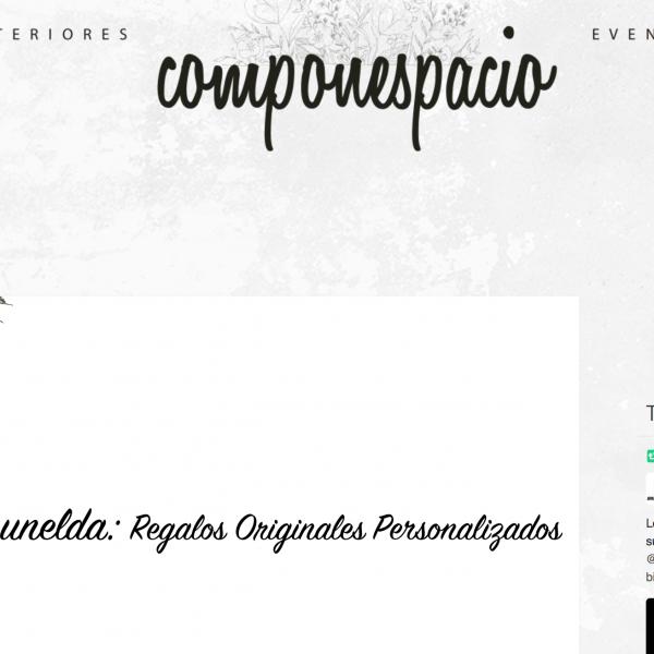 Blog Elena Jimenez, Componespacio